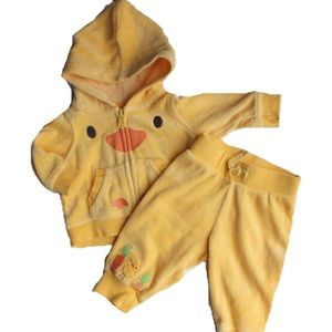 Infant 2-piece Chick Outfit, 0-3 Months